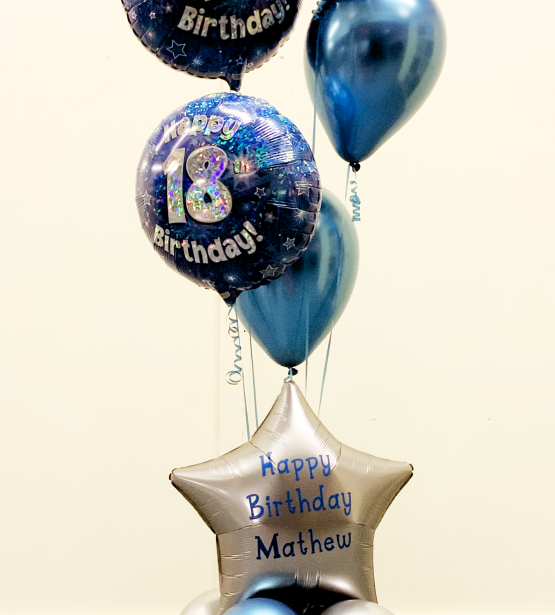 Premium Milestone Birthday Balloon Bouquet