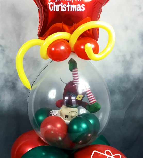 Stuffed Elf Balloon
