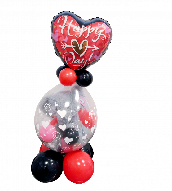 Valentine's Stuffed Balloon